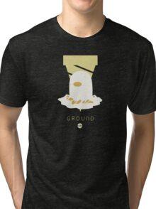 Pokemon Type - Ground Tri-blend T-Shirt