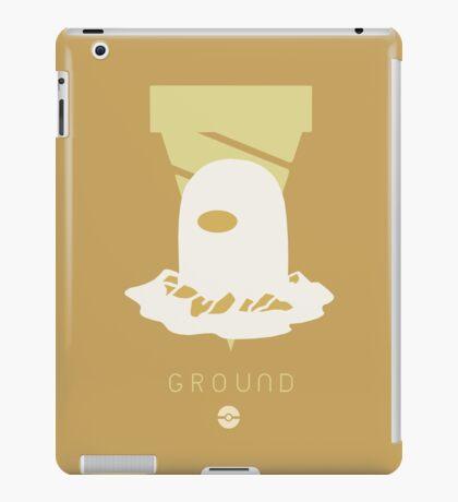 Pokemon Type - Ground iPad Case/Skin