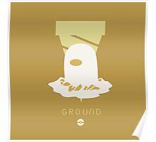 Pokemon Type - Ground Poster