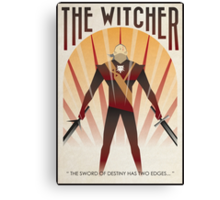 the witcher poster Canvas Print