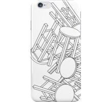 CHAIRS CHAIRS CHAIRS  iPhone Case/Skin