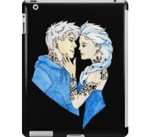 Tattooed Elsa and Jack Frost iPad Case/Skin
