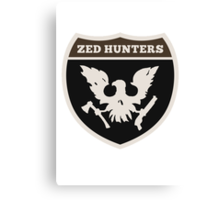 zed hunter - state of decay Canvas Print