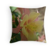 Columbine Bloom Throw Pillow