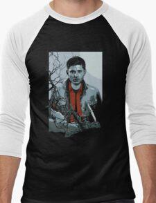 Dean Winchester Supernatural art illustration Men's Baseball ¾ T-Shirt