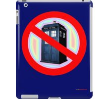 Dalek No Parking Sign T-shirt Design iPad Case/Skin