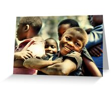 Boys of Busia - Proud (repaired) Greeting Card
