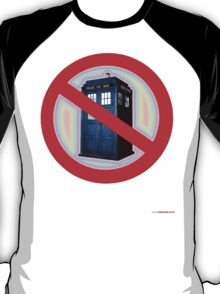 Dalek No Parking Sign T-shirt Design T-Shirt