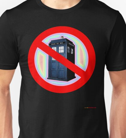 Dalek No Parking Sign T-shirt Design Unisex T-Shirt