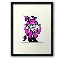 Morrigan (sprite) Framed Print