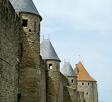 Carcassone walls by triciamary