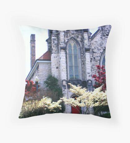 St. John's Lutheran Throw Pillow