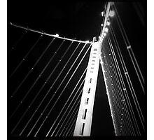 LIFE'S LITTLE GEMS - B&W Bay Bridge Photographic Print