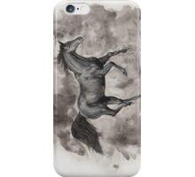 Black Horse iPhone Case/Skin