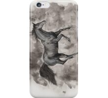 Black Horse iPhone Case/Skin