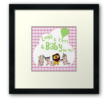 Baby Oz Green Framed Print