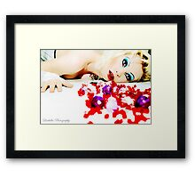 I Puke Glamour II Framed Print