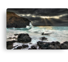 Heaven's Opening Canvas Print