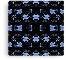 Futuristic Geometric Design Canvas Print