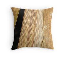 Black Stripe Throw Pillow
