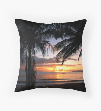 Magnetic Morning Throw Pillow