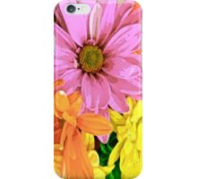 Gerber Daisy Floral Pattern iPhone Case/Skin