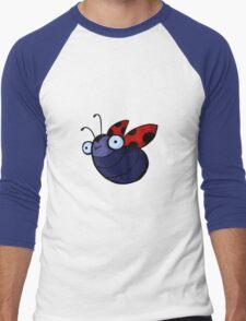 Cute Ladybug  Men's Baseball ¾ T-Shirt