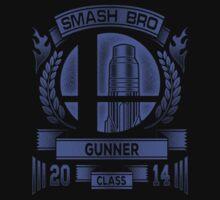 Smash Bro Gunner One Piece - Short Sleeve