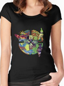 Chameleon Circle Women's Fitted Scoop T-Shirt