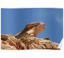 Nine Mile Canyon, Utah - one of America's most endangered places Poster
