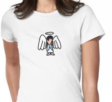 Little Angel Womens Fitted T-Shirt