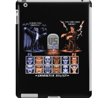 Classic Monster Fighter iPad Case/Skin