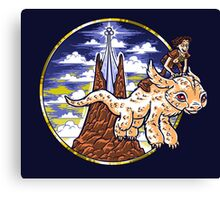 How to Train Your Luck Dragon Canvas Print