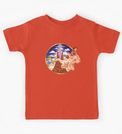 How to Train Your Luck Dragon Kids Tee