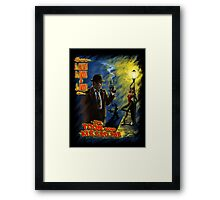 The Toon Who Kissed Me Framed Print