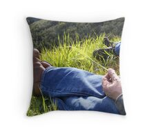 Takin' a Break Throw Pillow