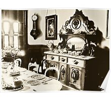 Mrs. White ~  Dining Room ~ Candlestick Poster