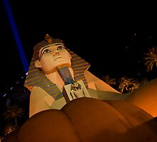 The Sphinx in Las Vegas by photodivaanna