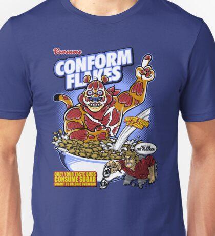 Conform Flakes Unisex T-Shirt