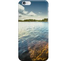 End of the road II iPhone Case/Skin