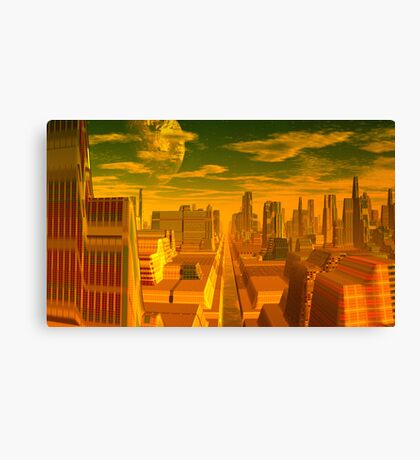 The Legend of the Seven Cities of Cíbola Canvas Print
