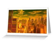 The Legend of the Seven Cities of Cíbola Greeting Card