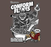 Conform Flakes (BLACK & WHITE ED.) Unisex T-Shirt