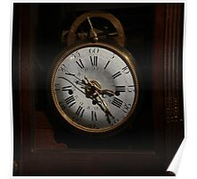 antique clock Poster