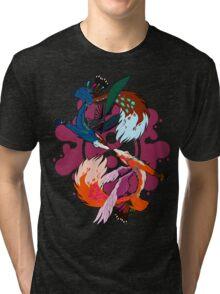 Zen Foxes Tri-blend T-Shirt