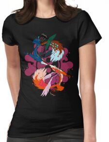 Zen Foxes Womens Fitted T-Shirt