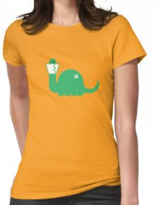 Dinosore Womens Fitted T-Shirt