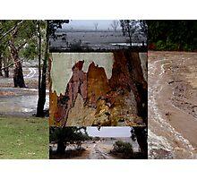 RAIN collage Photographic Print