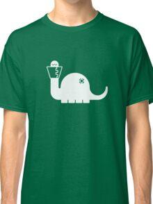 White Dinosore Classic T-Shirt