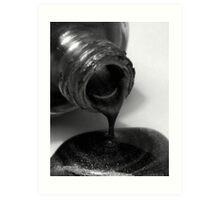 Dark Spill Art Print